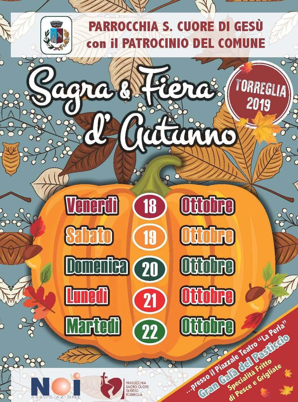 Sagra E Fiera D Autunno E Gran Gala Del Pasticcio A Torreglia Dal 18 Al 22 Ottobre 2019 Eventi A Padova