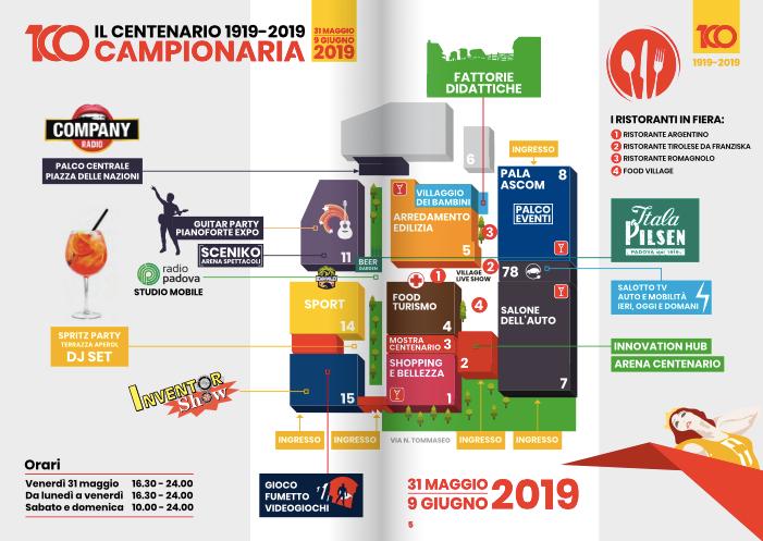 Fiera Campionaria Padova mappa-2