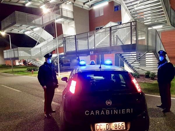 Carabinieri ospedale Schiavonia 2-2-2