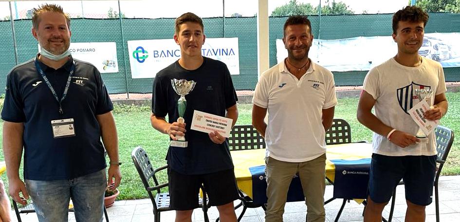 Open Banca Patavina Este premiazione Cecchinello Dal Zotto winner Osiliero De Rosa finalista-2