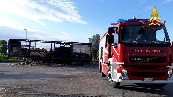 Incendio Camion Solesino 3-2