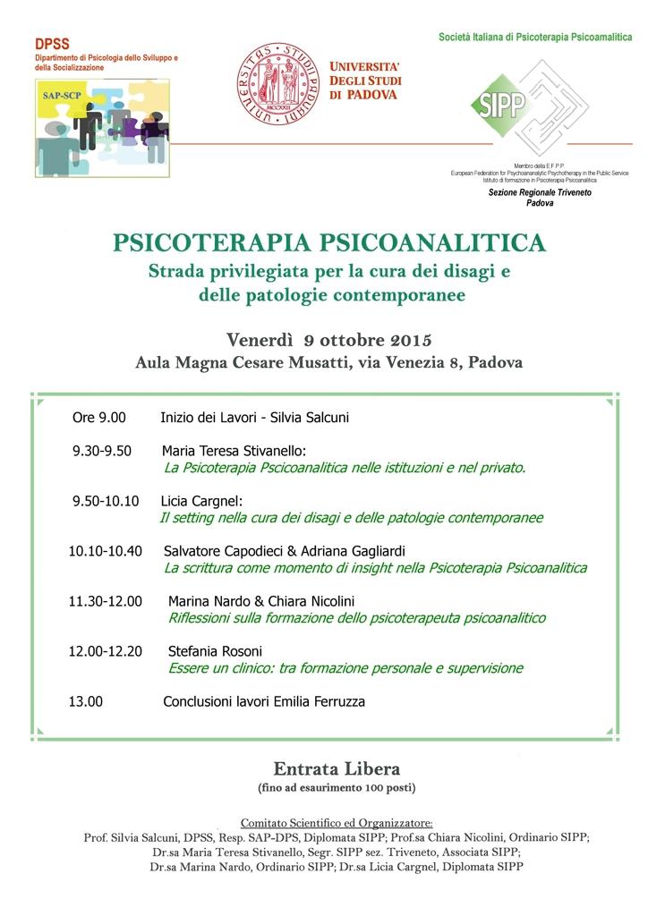 psicoterapia psicoanalitica: strada privilegiata per la cura dei disagi e delle patologie contemporanee