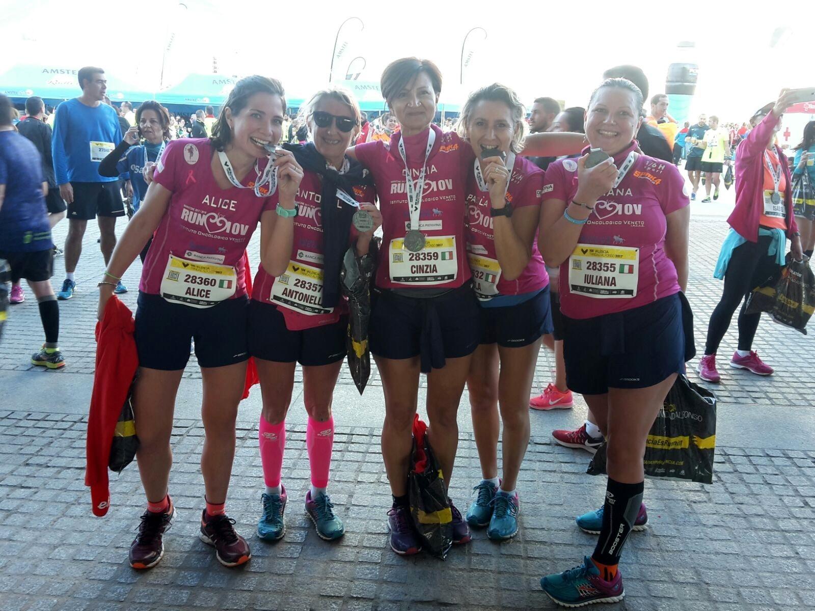 Calendario Podistico Veneto.Run For Iov Tutte Arrivate Al Traguardo Le Atlete Impegnate