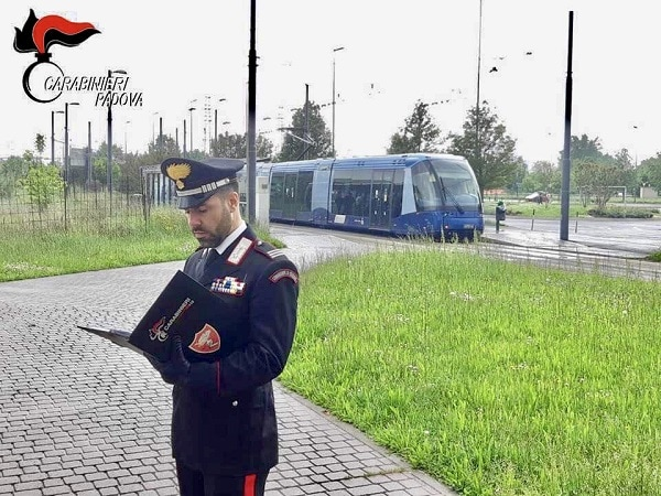 Carabinieri Pontevigodarzere tram-2