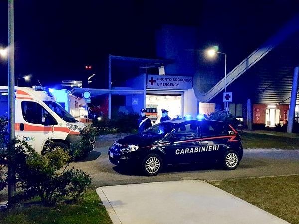 Carabinieri ospedale Schiavonia-2