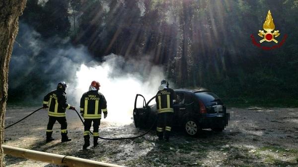 Incendio Auto Monselice 2-2