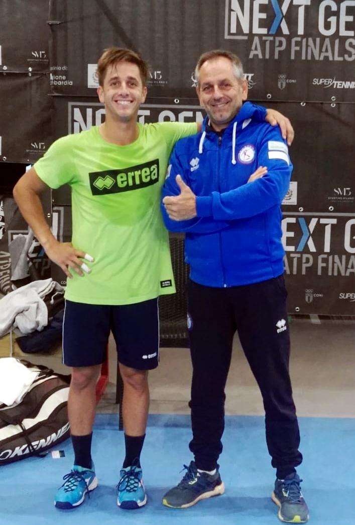 Η Luca με τον Giacomini Reddy στους τελικούς επόμενης γενιάς ATP-2