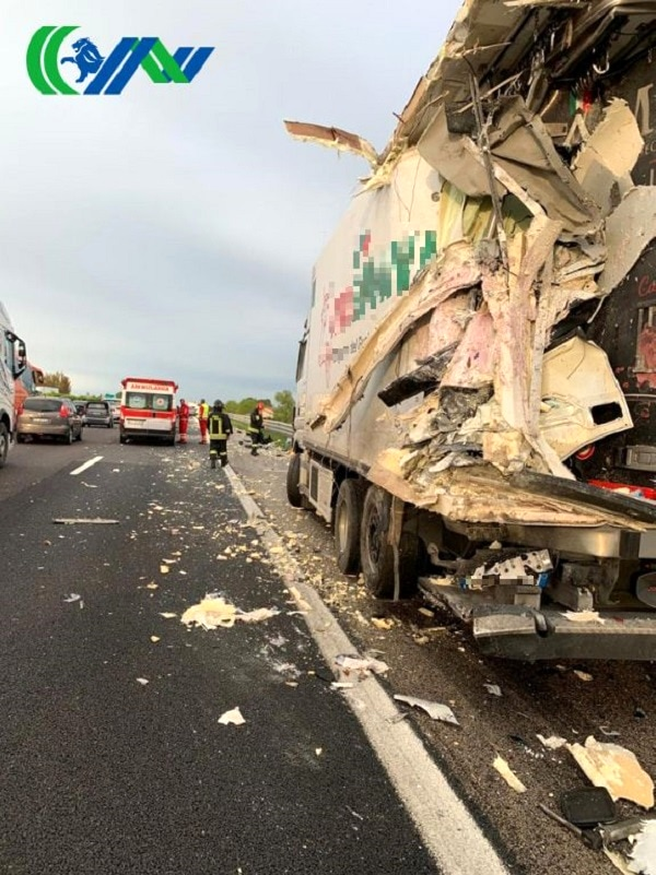 Incidente autostrada Vigonza 4-2