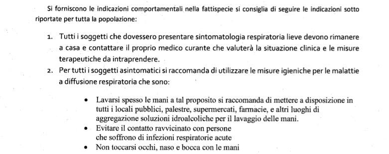 Coronavirus indicazioni 2-2