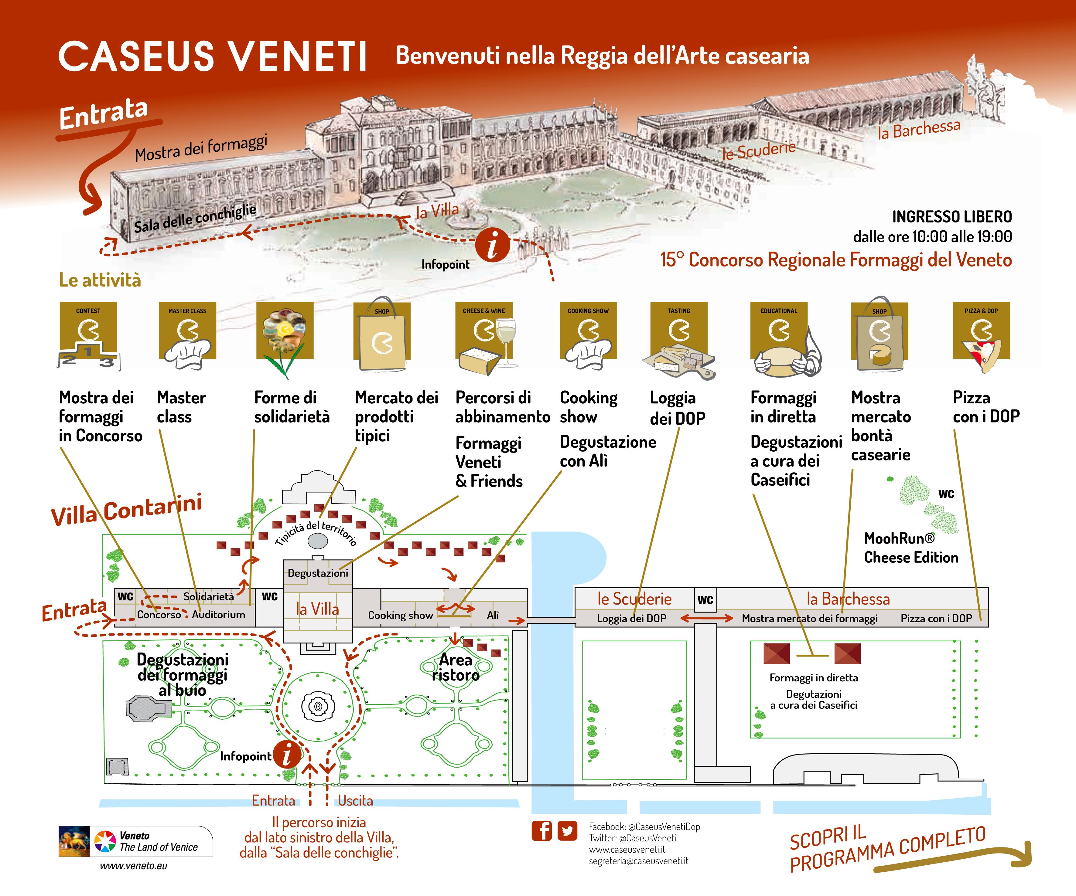 Calendario Podismo Veneto Ottobre 2020.Caseus Veneti Formaggi Del Veneto A Villa Contarini Di