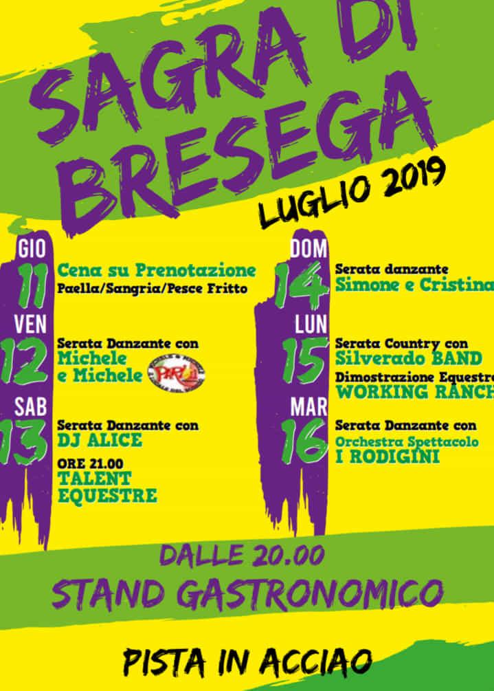 I Rodigini Calendario.Sagra A Bresega Di Ponso Dall 11 Al 16 Luglio 2019 Eventi A