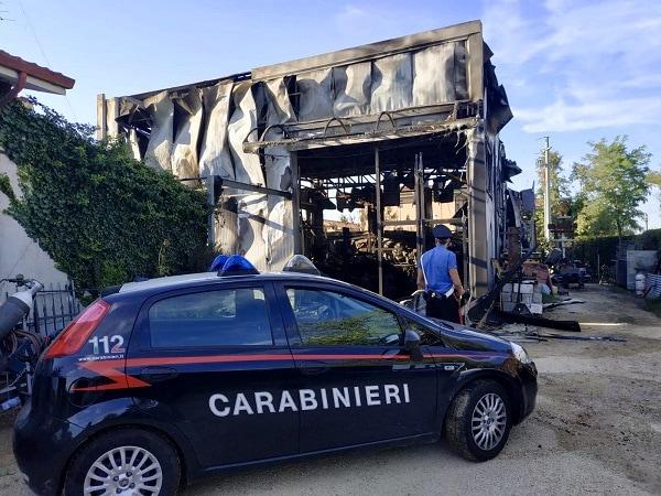 Incendio Ponso carabinieri-2