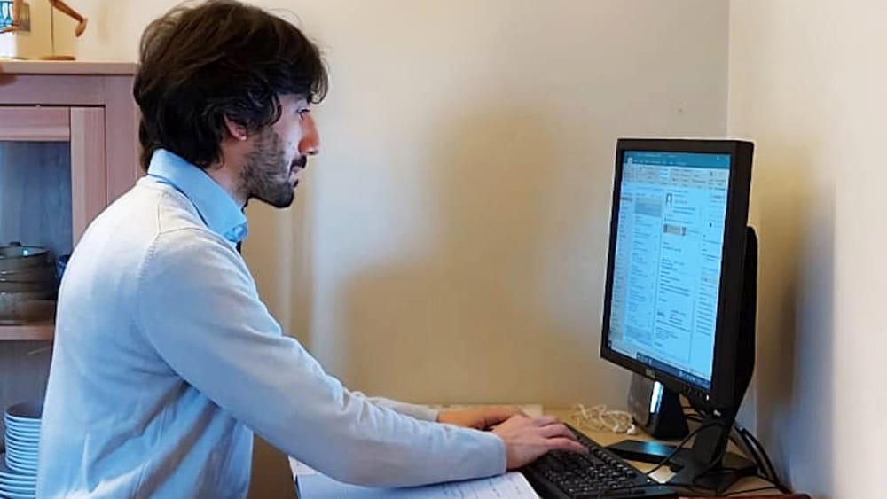 Docente ADHR Group durante una formazione online-2