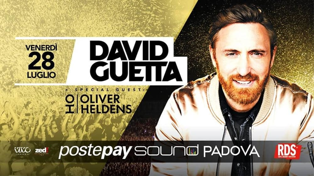 David Guetta + Oliver Heldens | Postepay Sound - Padova-2