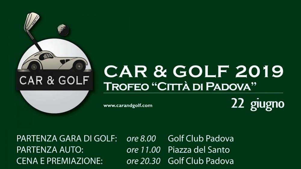 Car and golf 2019 locandina-2