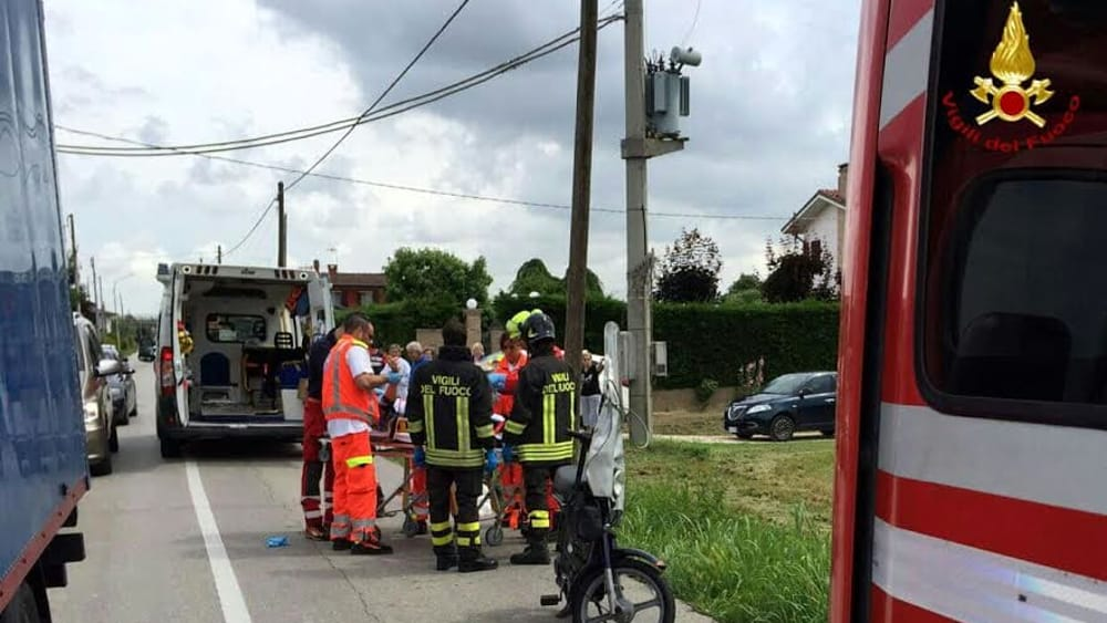 sant'angelo di piove incidente1-2