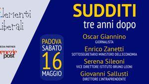 Sudditi, tre anni dopo. Con Giannino, Zanetti, Sileoni, Sallusti-3