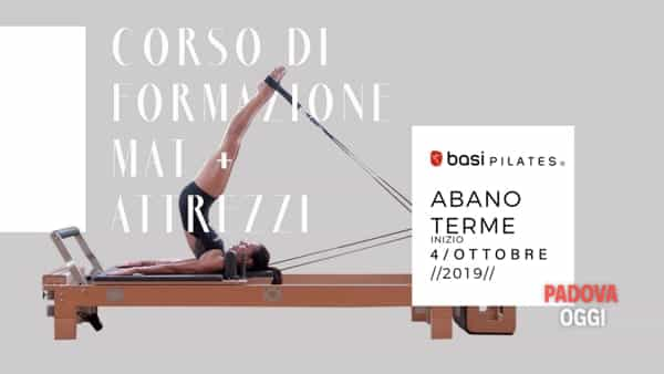 "Al via ad Abano Terme il corso ""Basi Pilates comprehensive global program"" da ottobre"