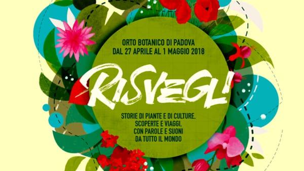 """Tutte le conferenze per """"Risvegli 2018. La primavera scientifica"""" all'Orto Botanico"""