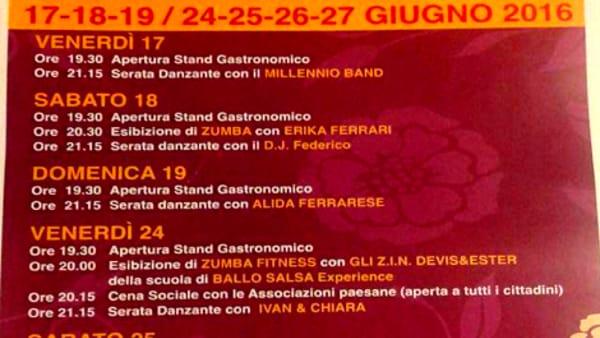 Festa per il ventennale della Pro Loco a Boara Pisani