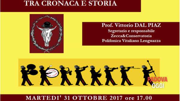 """""""LaVitaliano Lenguazzatra cronaca e storia"""", incontro con musica dal vivo a palazzo Zacco"""