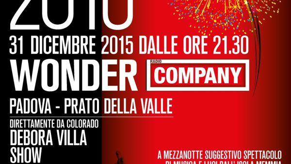 Capodanno 2016 in Prato della Valle