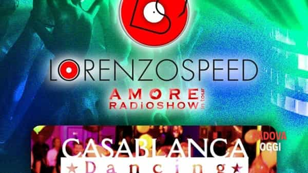 The Sounday/Amore Radio Show in tour al Casablanca Dancing