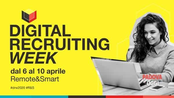 Trovare lavoro ai tempi del lockdown si può, con la digital recruiting week