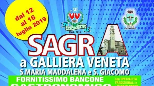 Sagra di Santa Maria Maddalena e San Giacomo aGalliera Veneta