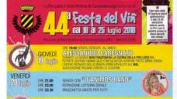 Festa del Vin a Sant'Andrea di Campodarsego