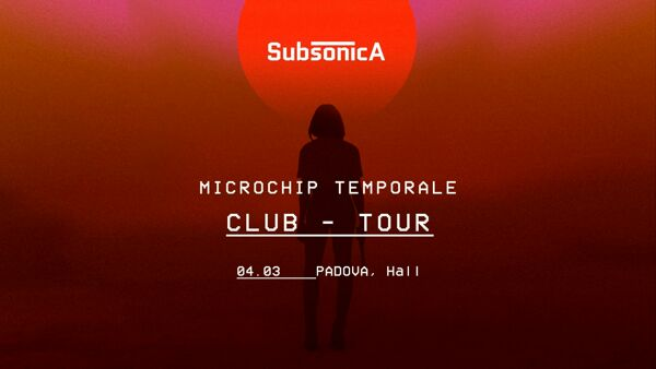 "Subsonica ""Microchip temporale club tour"" all'Hall di Padova"