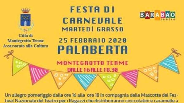 Patatrak! Grande festa di carnevale con teatro al Palaberta di Montegrotto Terme