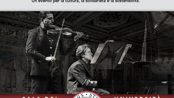 """""""Violini straordinari"""" concerto solidale alla Sala dei Giganti"""