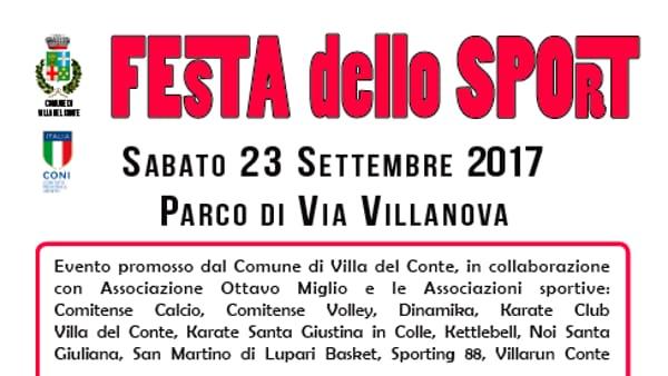 Festa dello sport a Villa del Conte