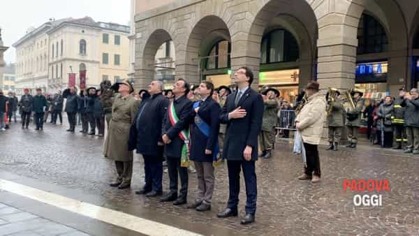 Giorno del ricordo: le celebrazioni di fronte a Palazzo Moroni