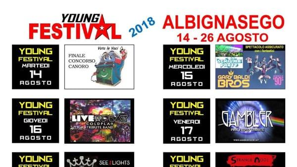 Young Festival, musica live ad Albignasego