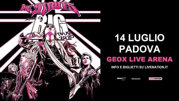 The Struts, il grande rock torna alla Geox live arena