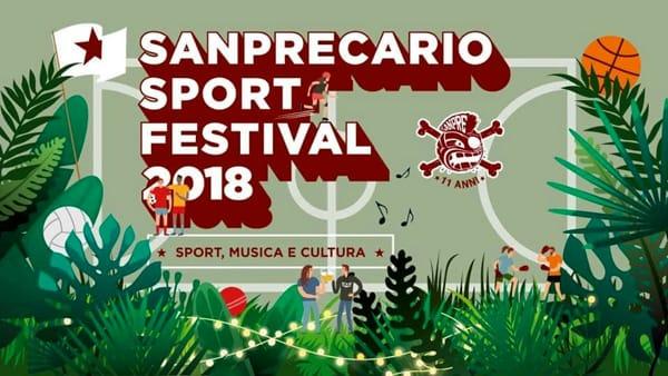 SanPrecario Sport Festival 2018 al Parco Milcovich