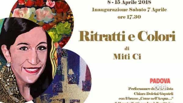 """""""Ritratti e colori"""", le opere di Miti Ci al Museo storico del bottone di Sant'Angelo"""