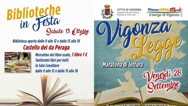 """""""Maratona di Lettura"""" a Vigonza"""
