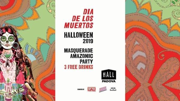 Halloween Masquerade amazonic party al'Hall di Padova