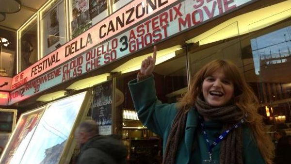 Chiara Galiazzo arriva a Sanremo ed è pronta a esibirsi all'Ariston