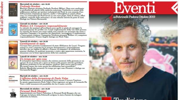 LaFeltrinelli di Padova, tutti gli eventi in programma a ottobre