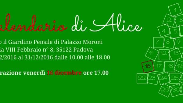 """Mostra """"Il calendario di Alice"""" Al cortile pensile di Palazzo Moroni"""