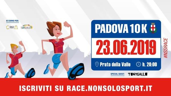 Nonsolosport race 2019 in Prato della Valle