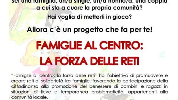 """""""Famiglie al Centro"""", presentazione del nuovo corso di formazione a Selvazzano"""