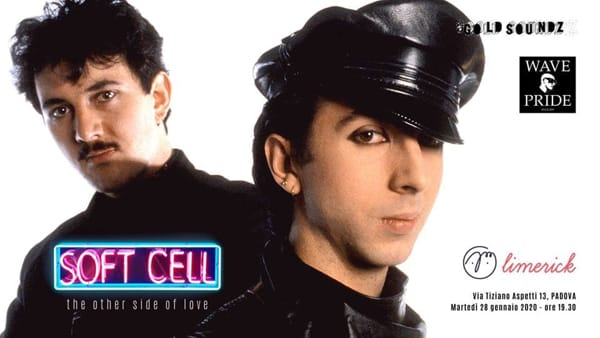 """Soft Cell - The other side of love"", audioforum alla Limerick"