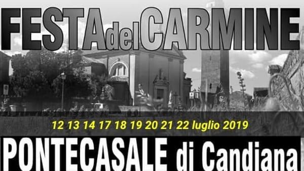 Festa del Carmine a Pontecasale di Candiana