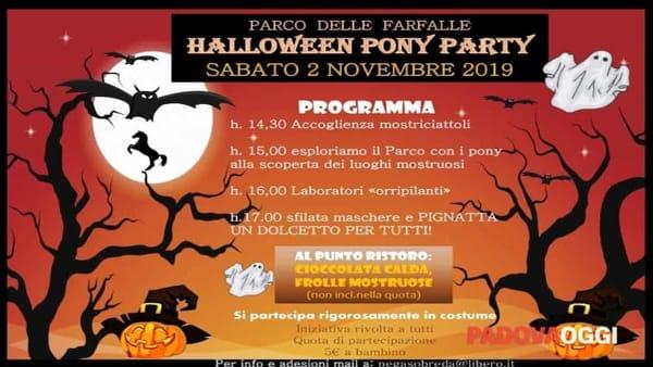 Halloween Pony Party al Parco delle Farfalle