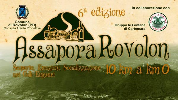 Assapora Rovolon 2017, passeggiata enogastronomica con degustazioni